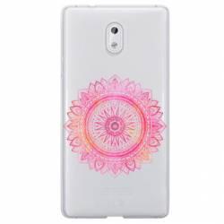 Coque transparente Nokia 6 mandala rose