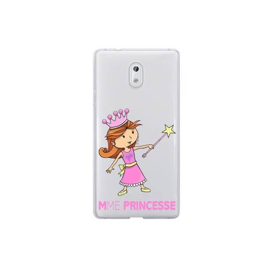 Coque transparente Nokia 6 magique mme princesse