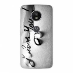 Coque Motorola Moto E5 PLUS amour