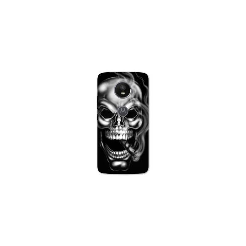 Coque pour Motorola Moto E5 PLUS tete de mort