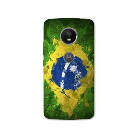 Coque Motorola Moto E5 PLUS Bresil