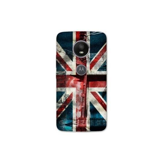 Coque pour Motorola Moto E5 PLUS Angleterre