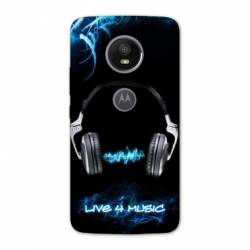 Coque Motorola Moto E5 PLUS techno
