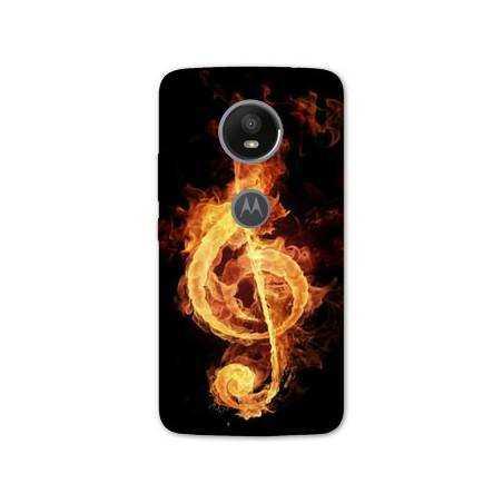 Coque Motorola Moto E5 PLUS Musique