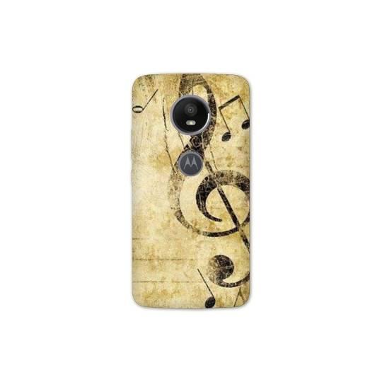 Coque pour Motorola Moto E5 PLUS Musique