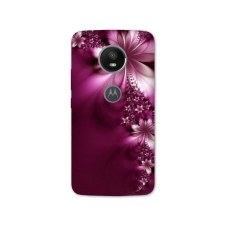 Coque Motorola Moto E5 PLUS fleurs