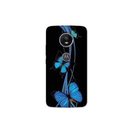 Coque Motorola Moto E5 PLUS papillons