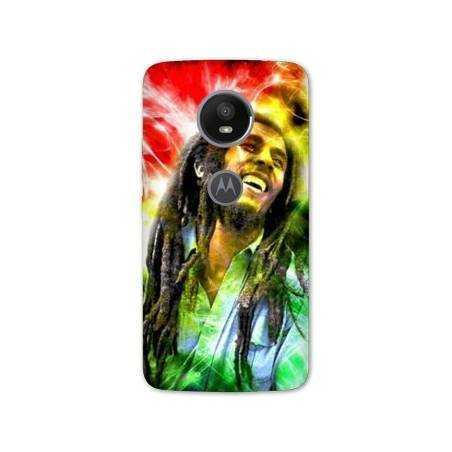 Coque Motorola Moto E5 PLUS Bob Marley