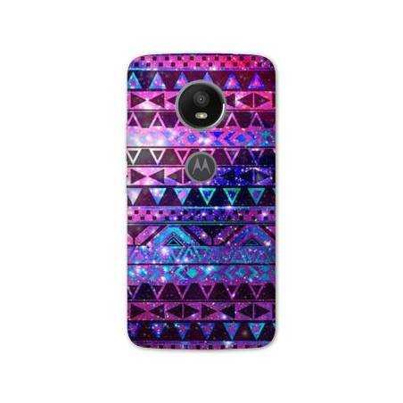 Coque Motorola Moto E5 PLUS motifs Aztec azteque