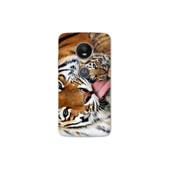 Coque pour Motorola Moto E5 PLUS felins