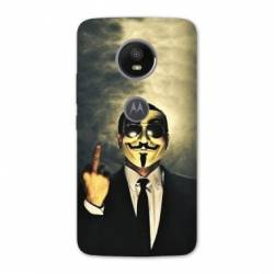 Coque Motorola Moto E5 PLUS Anonymous
