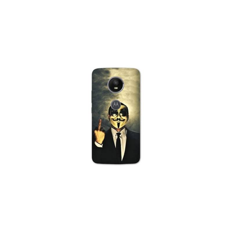 Coque Motorola Moto E5 PLUS Anonymous