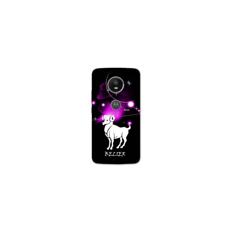 Coque pour Motorola Moto E5 PLUS signe zodiaque