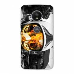 Coque Motorola Moto E5 PLUS pompier police