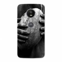 Coque Motorola Moto E5 PLUS Rugby