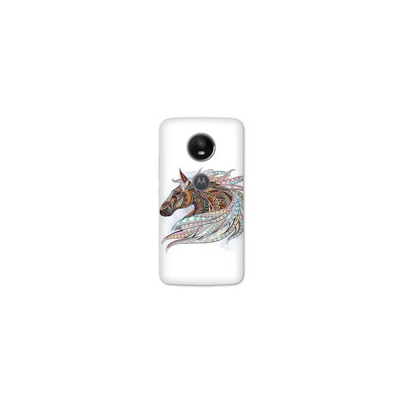 Coque Motorola Moto E5 PLUS Animaux Ethniques