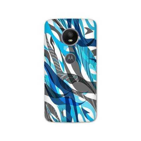 Coque Motorola Moto E5 PLUS Etnic abstrait