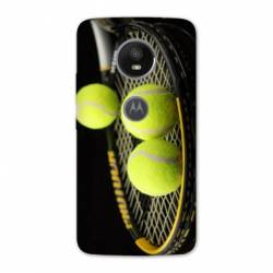 Coque Motorola Moto E5 PLUS Tennis