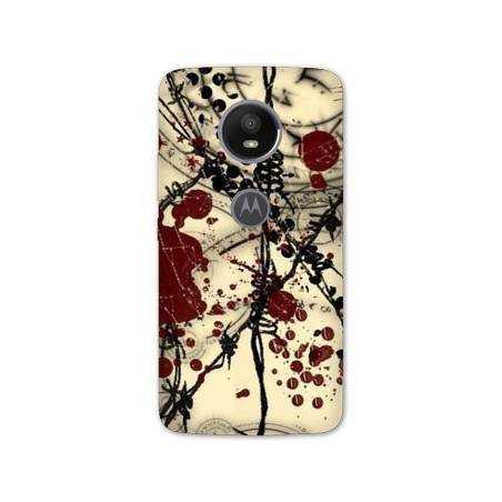 Coque Motorola Moto E5 PLUS Grunge