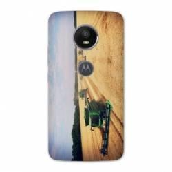 Coque Motorola Moto E5 PLUS Agriculture