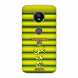 Coque Motorola Moto E5 PLUS coupe monde football 2018