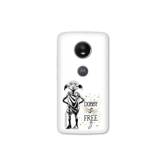 Coque Motorola Moto E5 PLUS WB License harry potter dobby