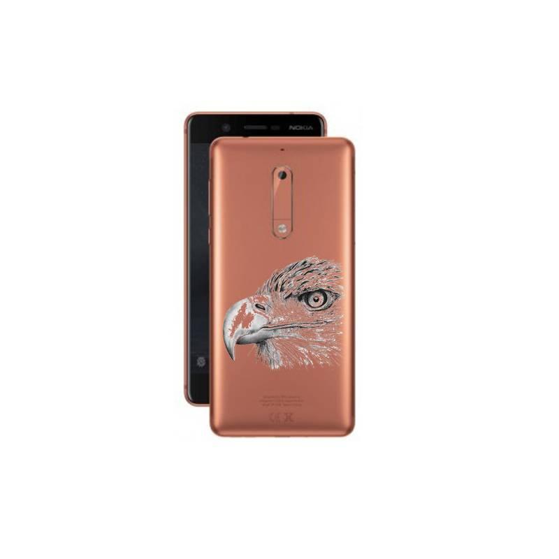 Coque transparente Nokia 5 aigle