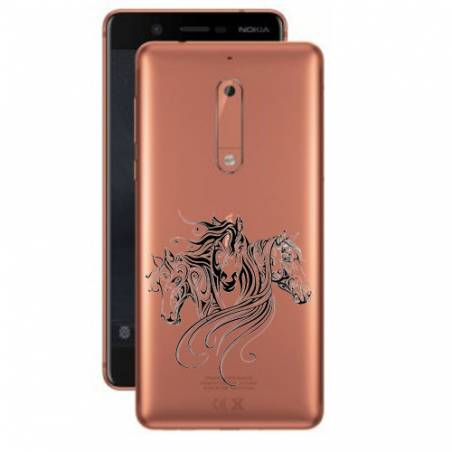 Coque transparente Nokia 5 chevaux
