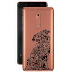 Coque transparente Nokia 5 chien