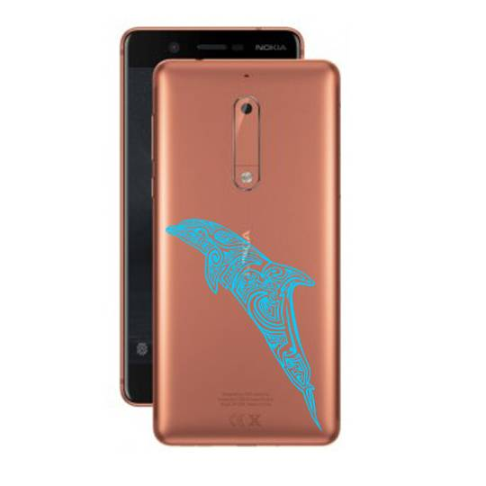 Coque transparente Nokia 5 dauphin