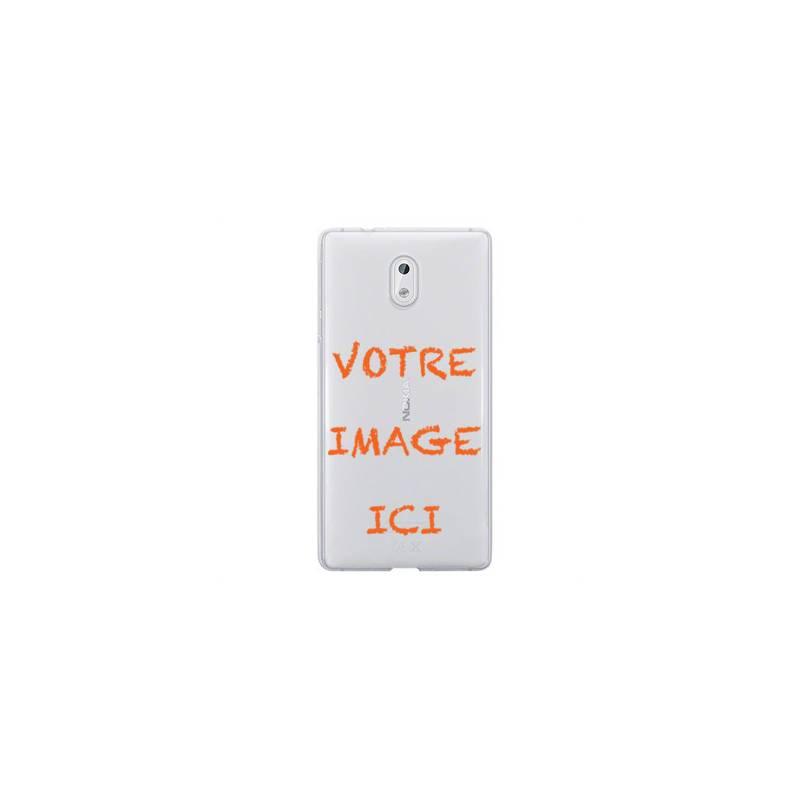 Coque transparente Nokia 2 personnalisee