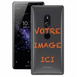 Coque transparente Sony Xperia XZ2 personnalisee