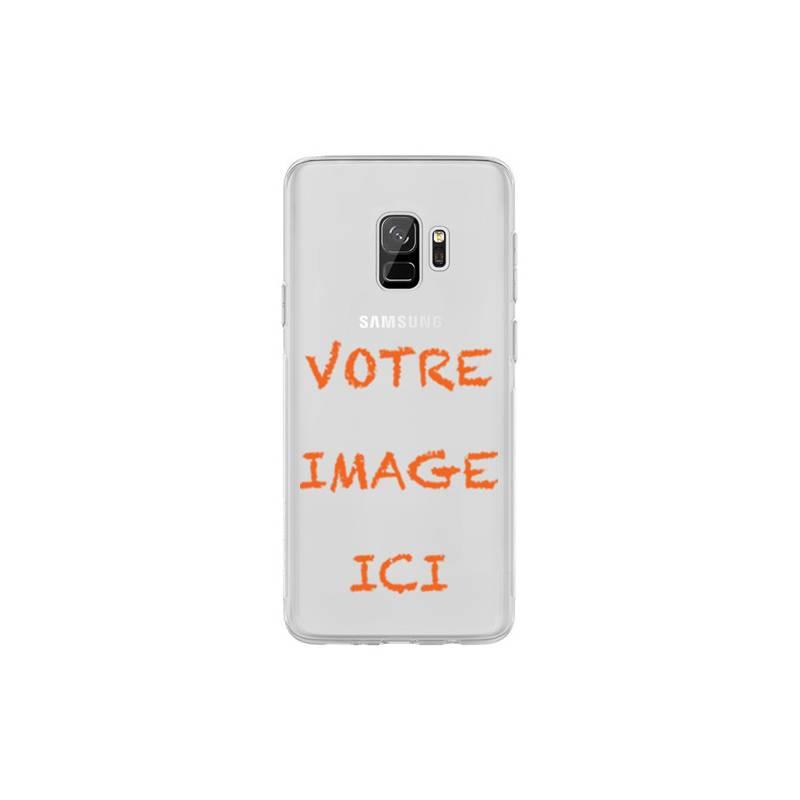 Coque transparente Samsung Galaxy S9 personnalisee