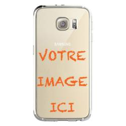 Coque transparente Samsung Galaxy S8 Plus personnalisee