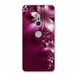 Coque Sony Xperia XZ2 fleurs