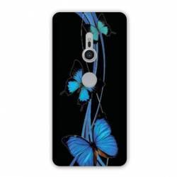 Coque Sony Xperia XZ2 papillons