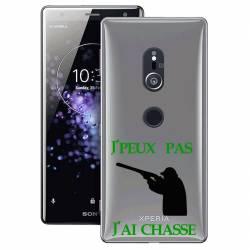 Coque transparente Sony Xperia XZ2 jpeux pas jai chasse