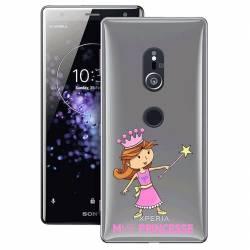 Coque transparente Sony Xperia XZ2 magique mme princesse
