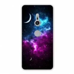 Coque Sony Xperia XZ2 Espace Univers Galaxie