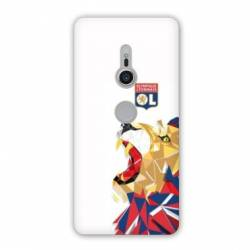 Coque Sony Xperia XZ2 License Olympique Lyonnais OL - lion color