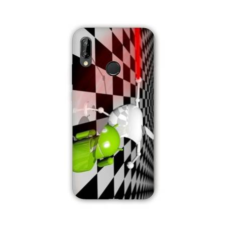 Coque Huawei P20 Lite apple vs android