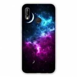 Coque Huawei P20 Lite Espace Univers Galaxie