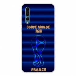Coque Huawei P20 coupe monde football 2018