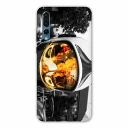 Coque Huawei P20 pompier police