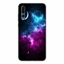 Coque Huawei P20 Espace Univers Galaxie