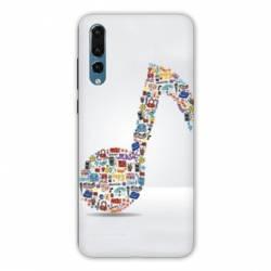 Coque Huawei P20 Musique