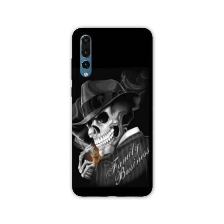 Coque Huawei P20 tete de mort