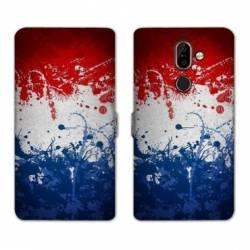 RV Housse cuir portefeuille Nokia 7 Plus France
