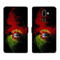 RV Housse cuir portefeuille Nokia 7 Plus Portugal