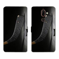 RV Housse cuir portefeuille Nokia 7 Plus Sport Glisse